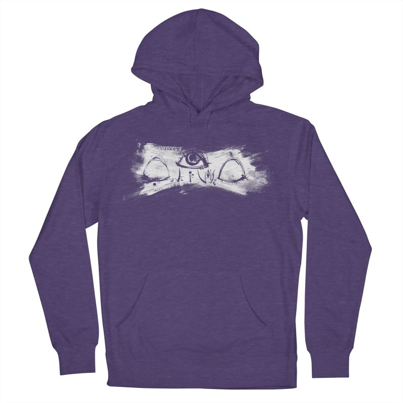 Vois Men's French Terry Pullover Hoody by ilustramar's Artist Shop