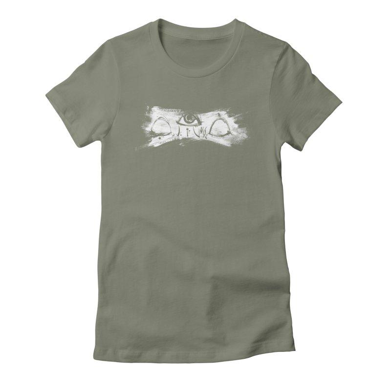 Vois Women's Fitted T-Shirt by ilustramar's Artist Shop