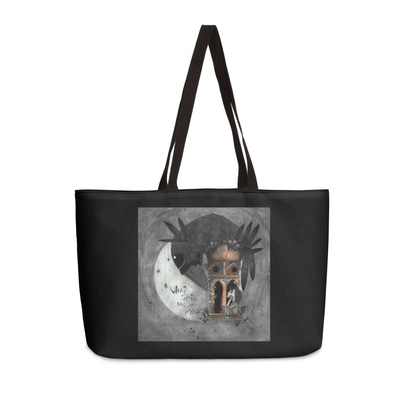 Strange news from another star Accessories Weekender Bag Bag by ilustramar's Artist Shop