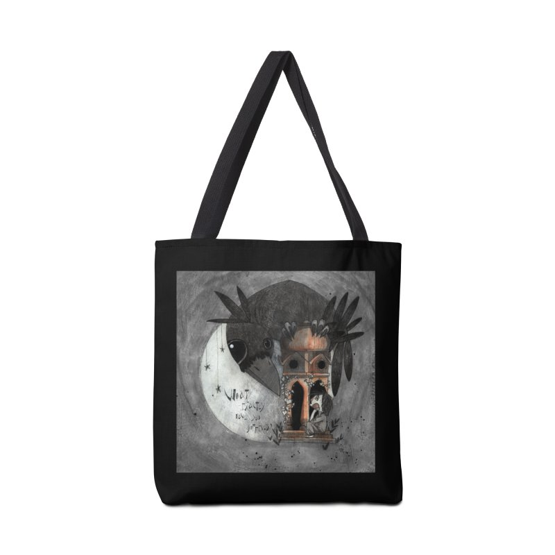 Strange news from another star Accessories Bag by ilustramar's Artist Shop