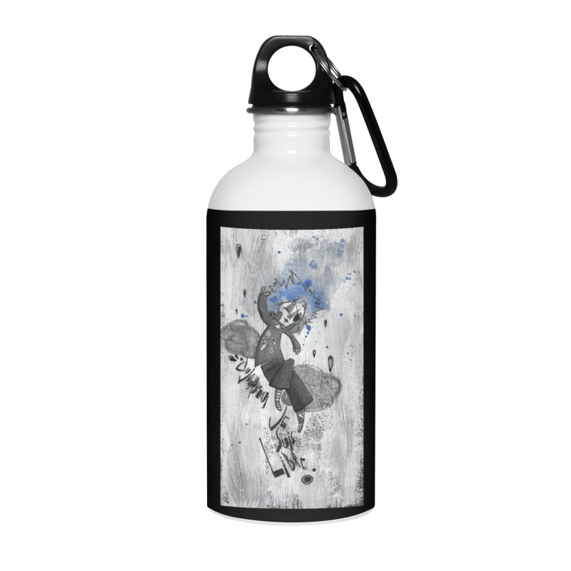 Libre Accessories Water Bottle by ilustramar's Artist Shop