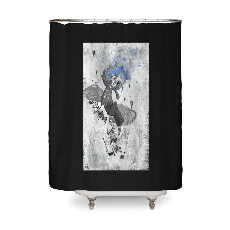Libre Home Shower Curtain by ilustramar's Artist Shop