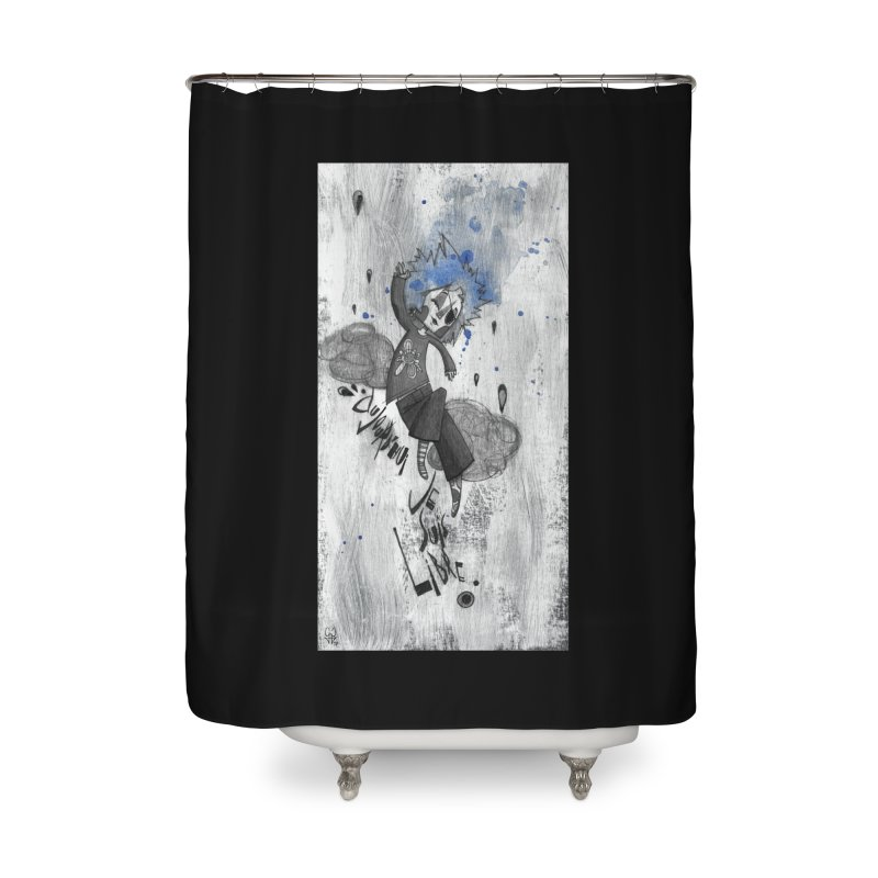 Libre Home Shower Curtain by ilustramar's Artist Shop