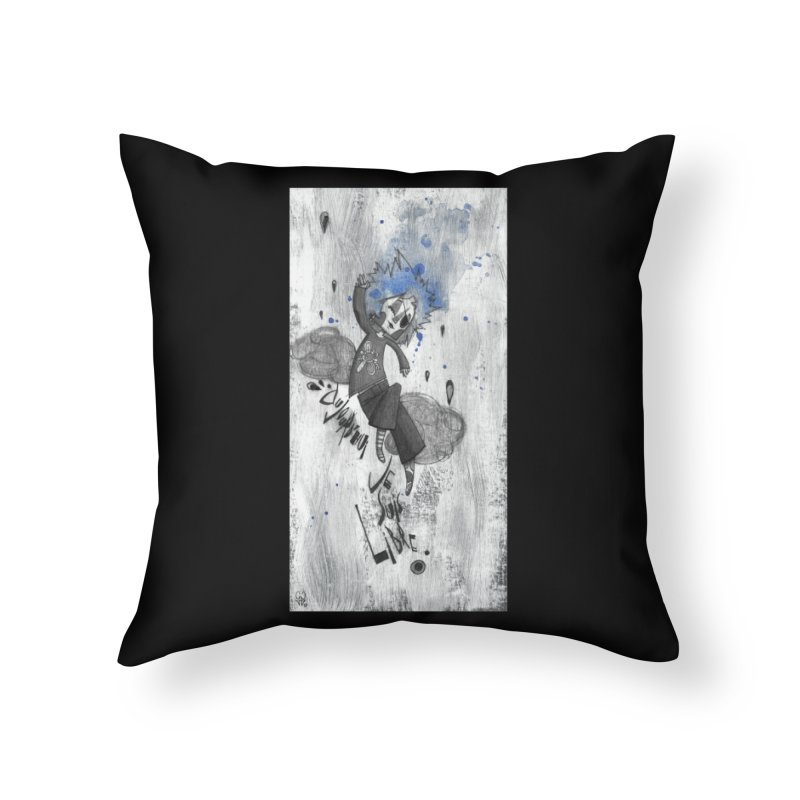 Libre Home Throw Pillow by ilustramar's Artist Shop