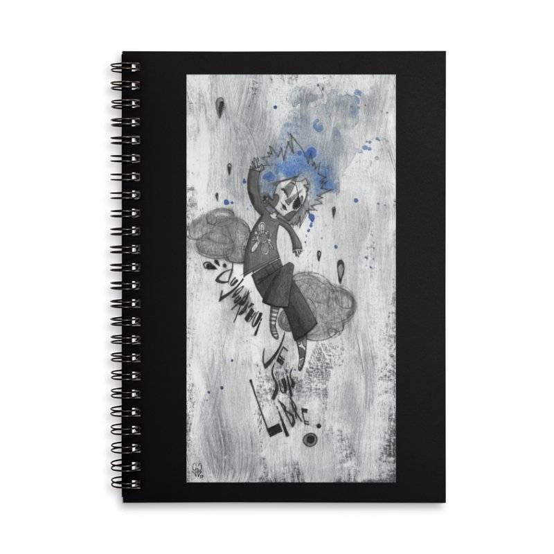 Libre Accessories Lined Spiral Notebook by ilustramar's Artist Shop