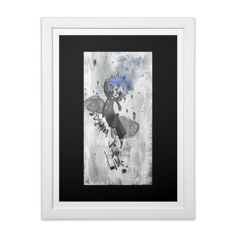 Libre Home Framed Fine Art Print by ilustramar's Artist Shop