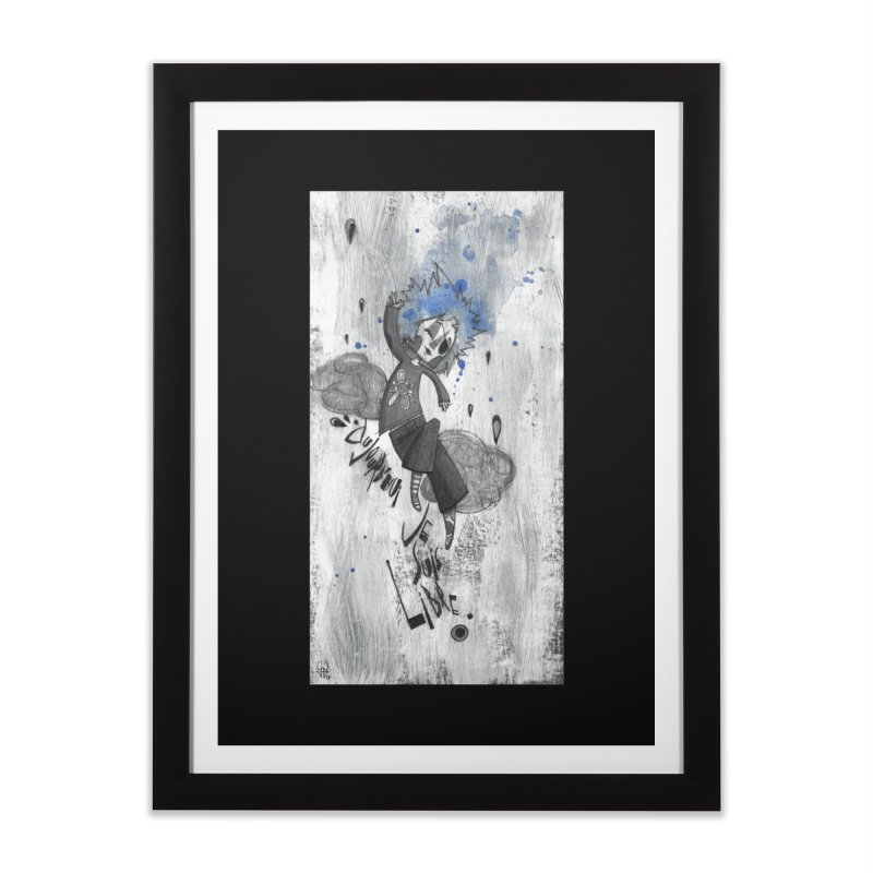 Libre Home Framed Fine Art Print by ilustramar's Artist Shop