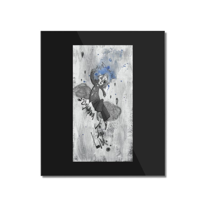 Libre Home Mounted Acrylic Print by ilustramar's Artist Shop
