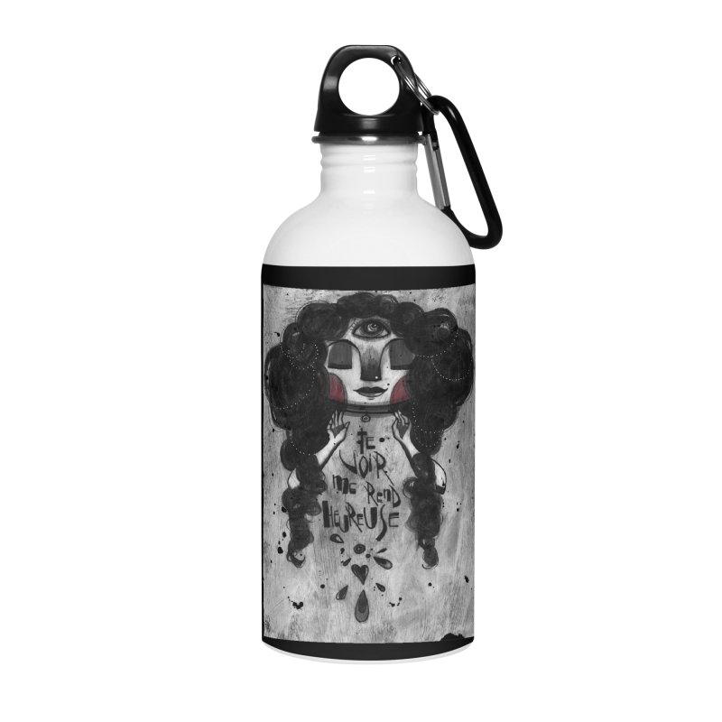 Heureuse Accessories Water Bottle by ilustramar's Artist Shop
