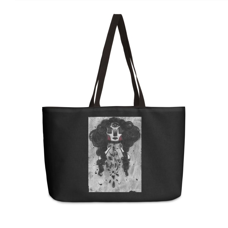 Heureuse Accessories Weekender Bag Bag by ilustramar's Artist Shop