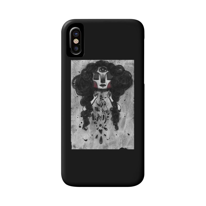 Heureuse Accessories Phone Case by ilustramar's Artist Shop