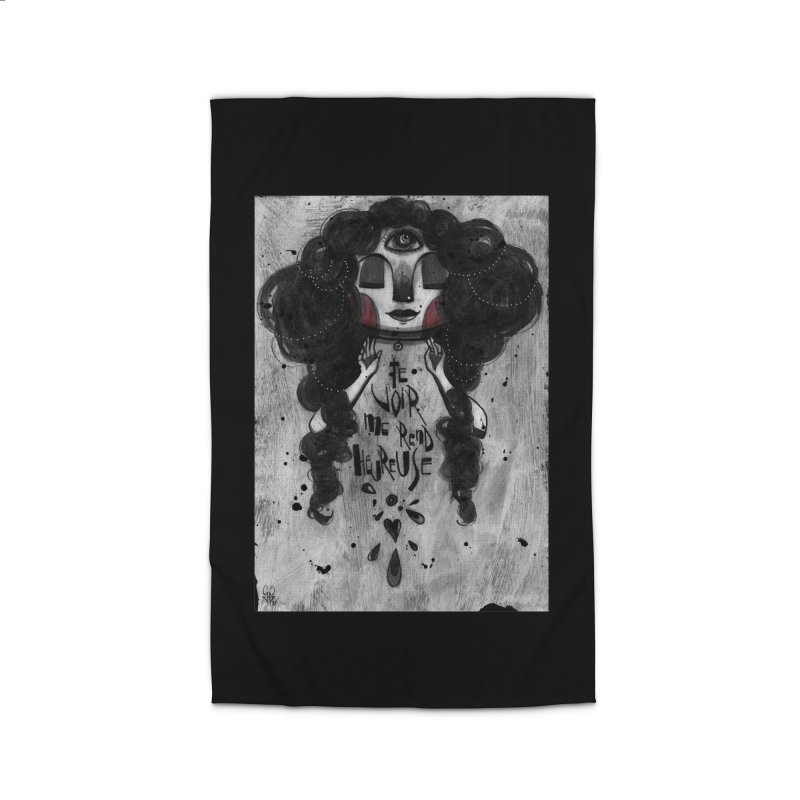 Heureuse Home Rug by ilustramar's Artist Shop