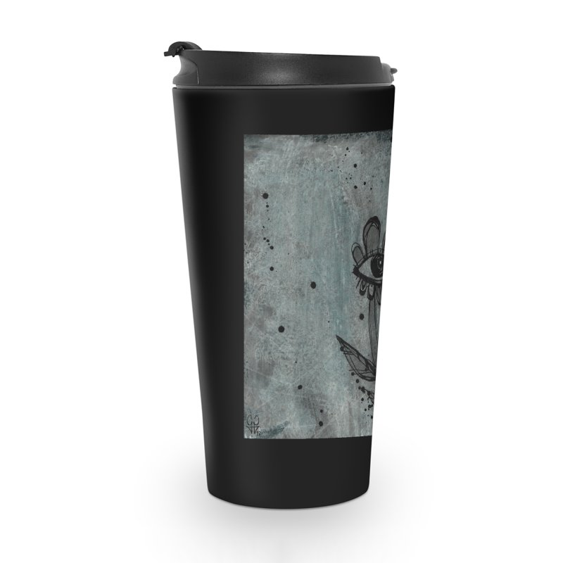 Flowers Accessories Travel Mug by ilustramar's Artist Shop
