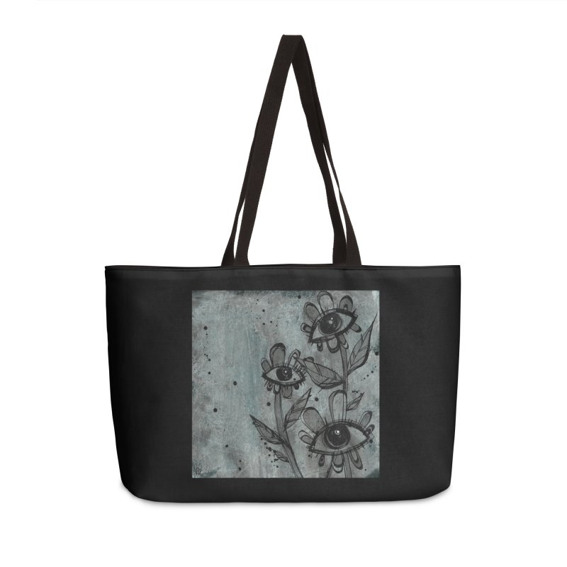 Flowers Accessories Bag by ilustramar's Artist Shop