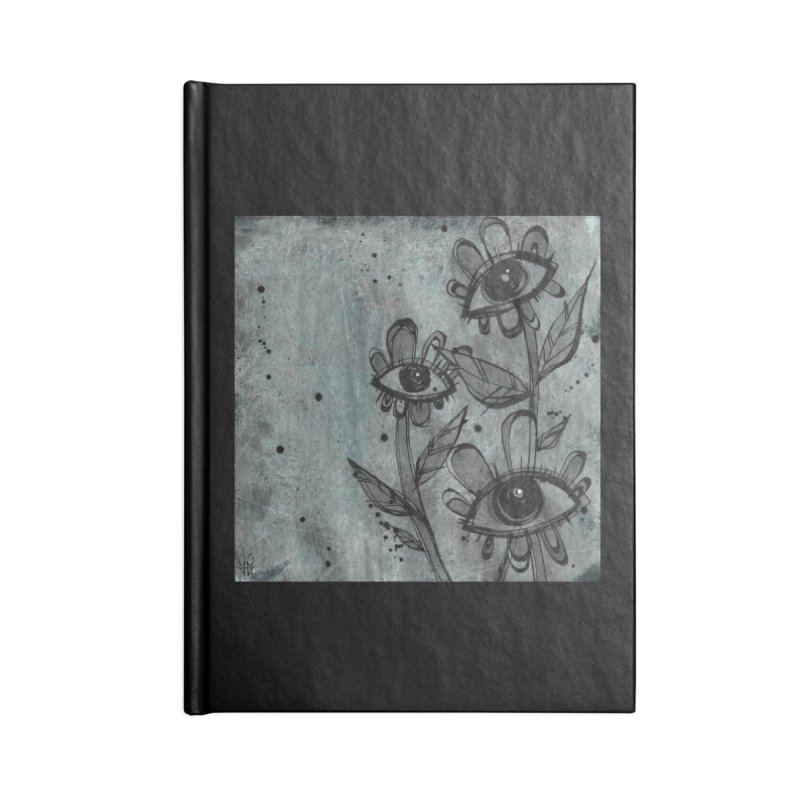 Flowers Accessories Notebook by ilustramar's Artist Shop