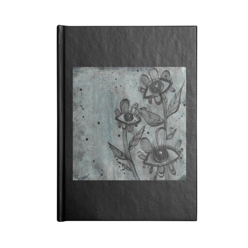 Flowers Accessories Notebook by ilustramar's Artist Shop