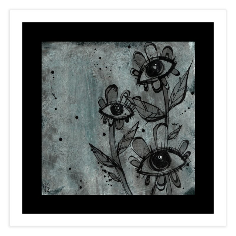 Flowers Home Fine Art Print by ilustramar's Artist Shop