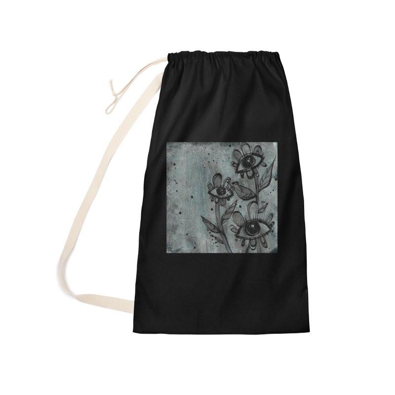 Flowers Accessories Bag by ilustramar's Artist Shop