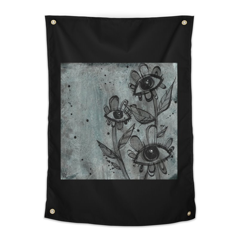 Flowers Home Tapestry by ilustramar's Artist Shop