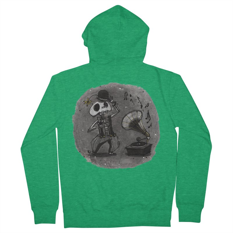 Dance! Men's Zip-Up Hoody by ilustramar's Artist Shop
