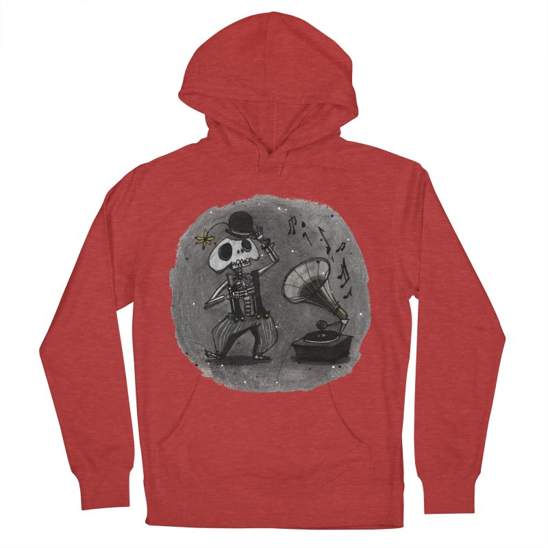 Dance! Women's French Terry Pullover Hoody by ilustramar's Artist Shop