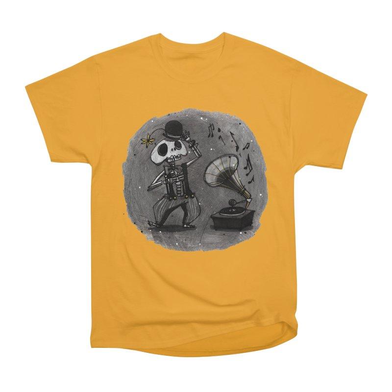 Dance! Men's Heavyweight T-Shirt by ilustramar's Artist Shop