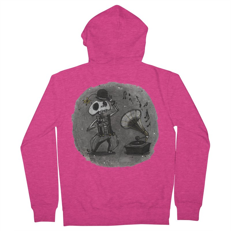 Dance! Women's French Terry Zip-Up Hoody by ilustramar's Artist Shop