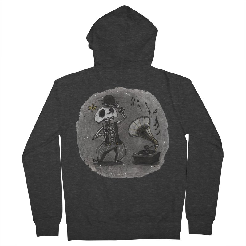 Dance! Men's French Terry Zip-Up Hoody by ilustramar's Artist Shop