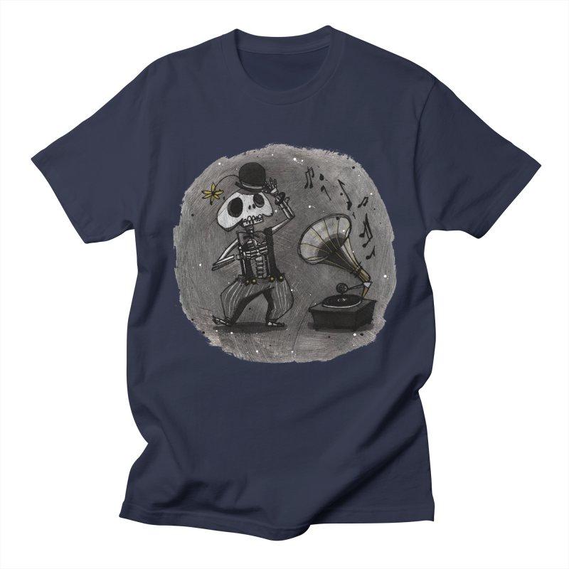 Dance! Men's Regular T-Shirt by ilustramar's Artist Shop
