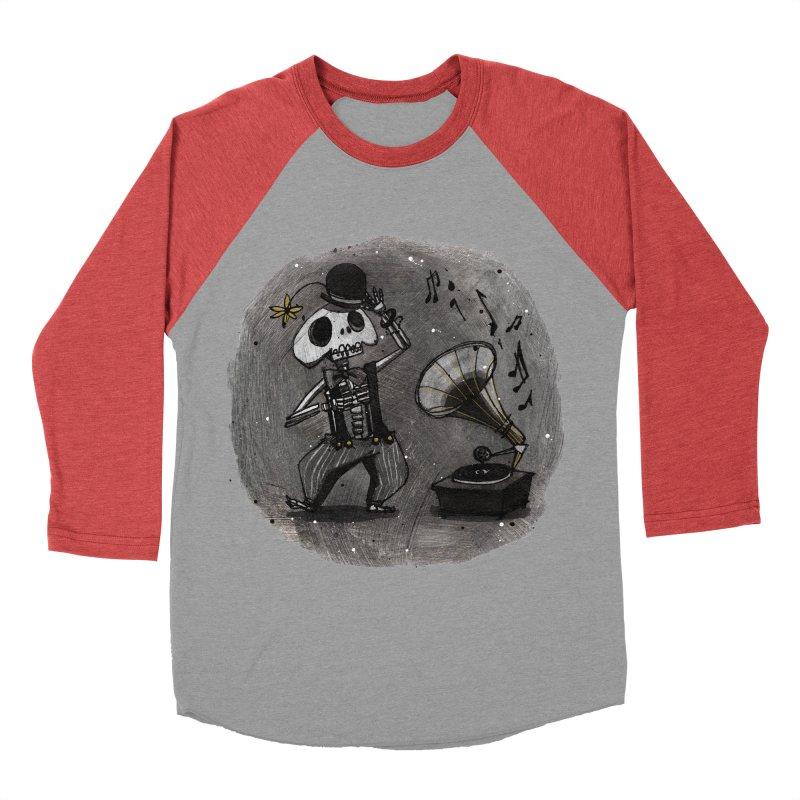 Dance! Women's Baseball Triblend T-Shirt by ilustramar's Artist Shop
