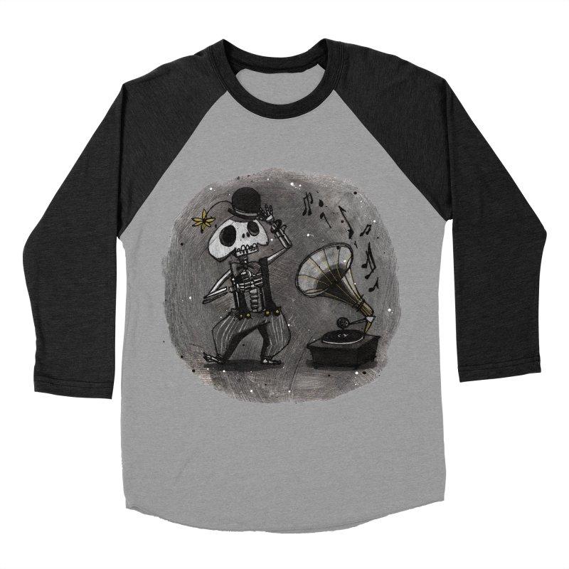Dance! Men's Baseball Triblend Longsleeve T-Shirt by ilustramar's Artist Shop