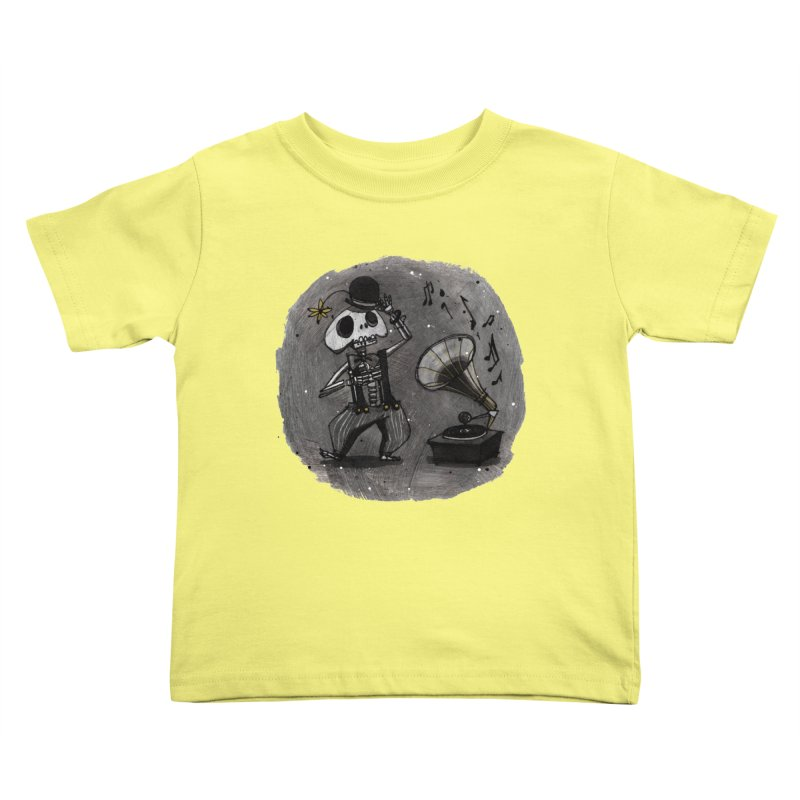 Dance! Kids Toddler T-Shirt by ilustramar's Artist Shop