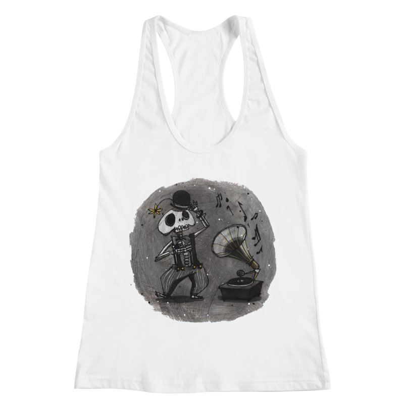 Dance! Women's Racerback Tank by ilustramar's Artist Shop