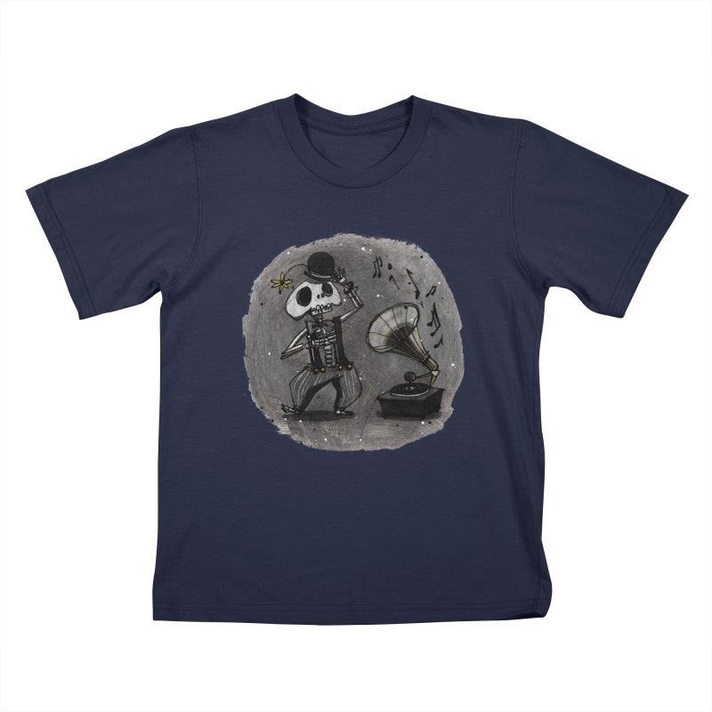 Dance! Kids T-Shirt by ilustramar's Artist Shop