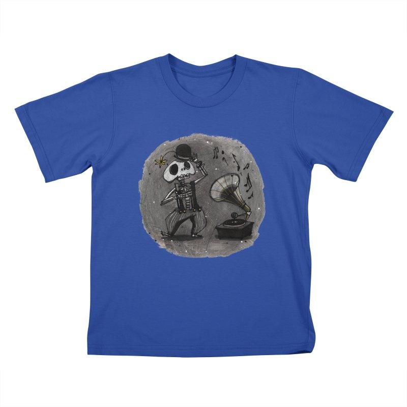 Dance! Kids T-Shirt by ilustramar's Artist Shop