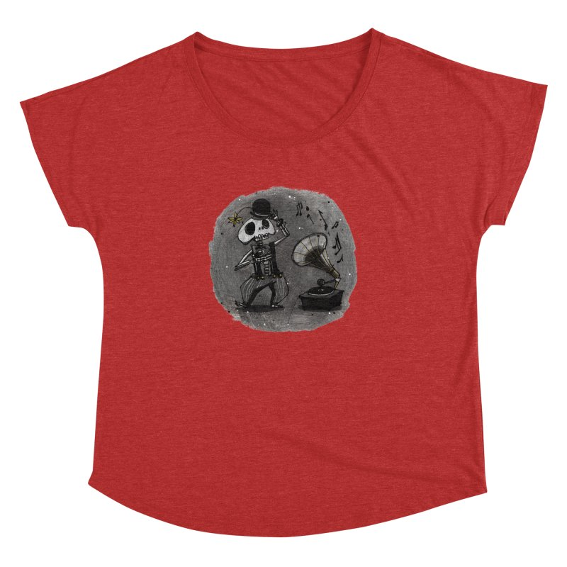 Dance! Women's Dolman Scoop Neck by ilustramar's Artist Shop