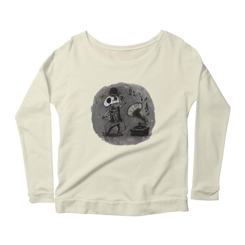 Dance! Women's Scoop Neck Longsleeve T-Shirt by ilustramar's Artist Shop