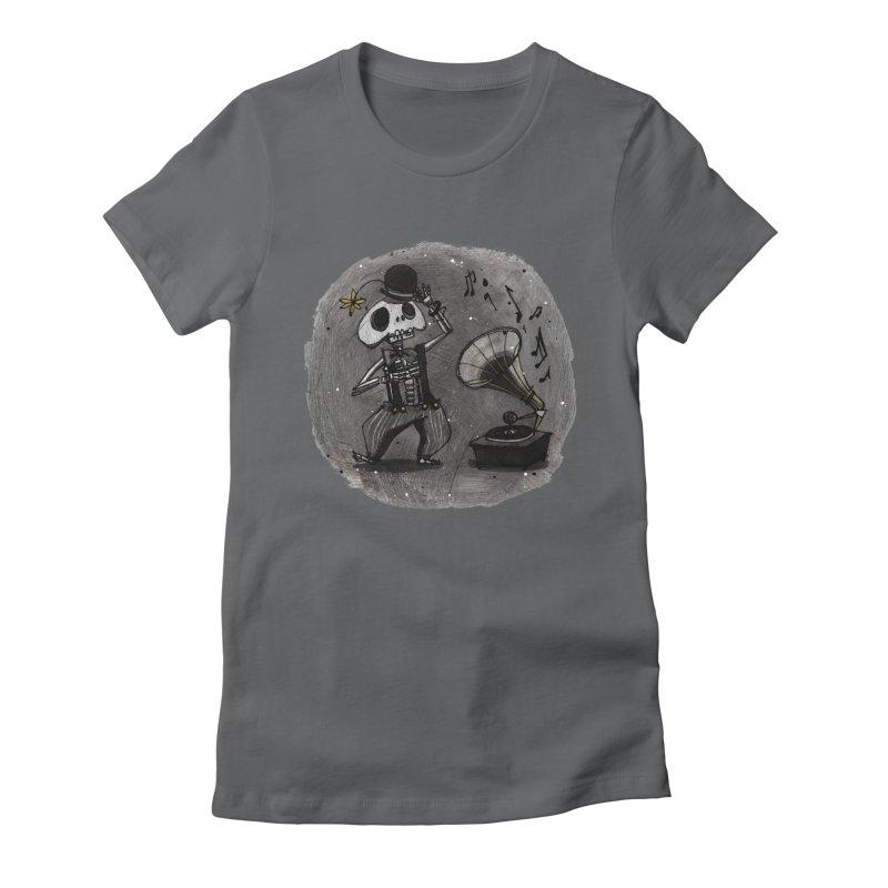 Dance! Women's Fitted T-Shirt by ilustramar's Artist Shop