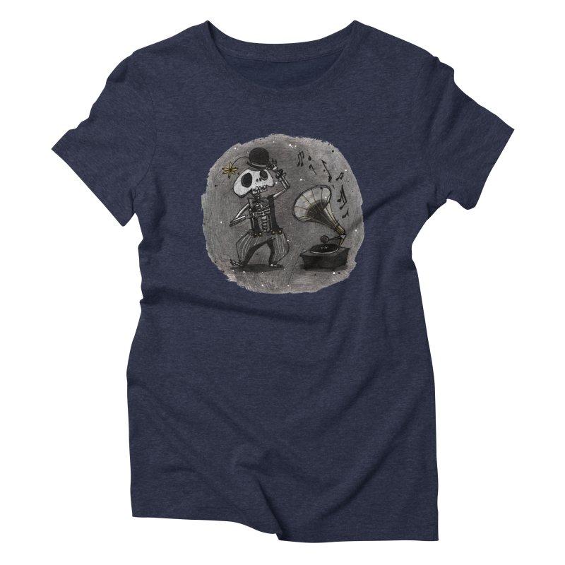 Dance! Women's Triblend T-Shirt by ilustramar's Artist Shop