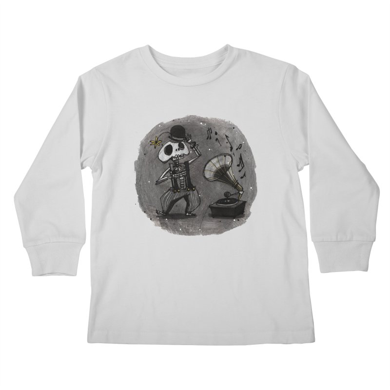 Dance! Kids Longsleeve T-Shirt by ilustramar's Artist Shop
