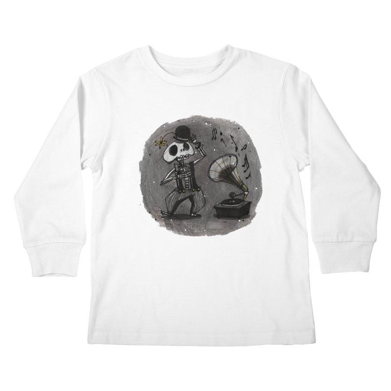 Dance! Kids Longsleeve T-Shirt by ilustramar's Artist Shop