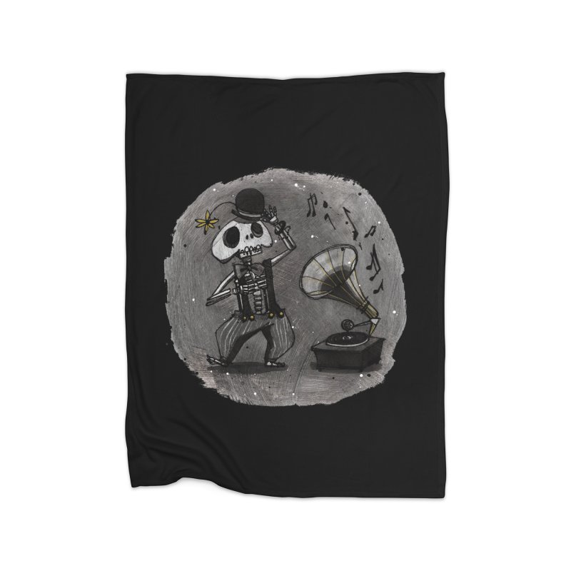 Dance! Home Fleece Blanket Blanket by ilustramar's Artist Shop