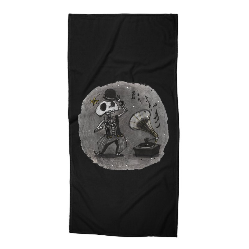 Dance! Accessories Beach Towel by ilustramar's Artist Shop