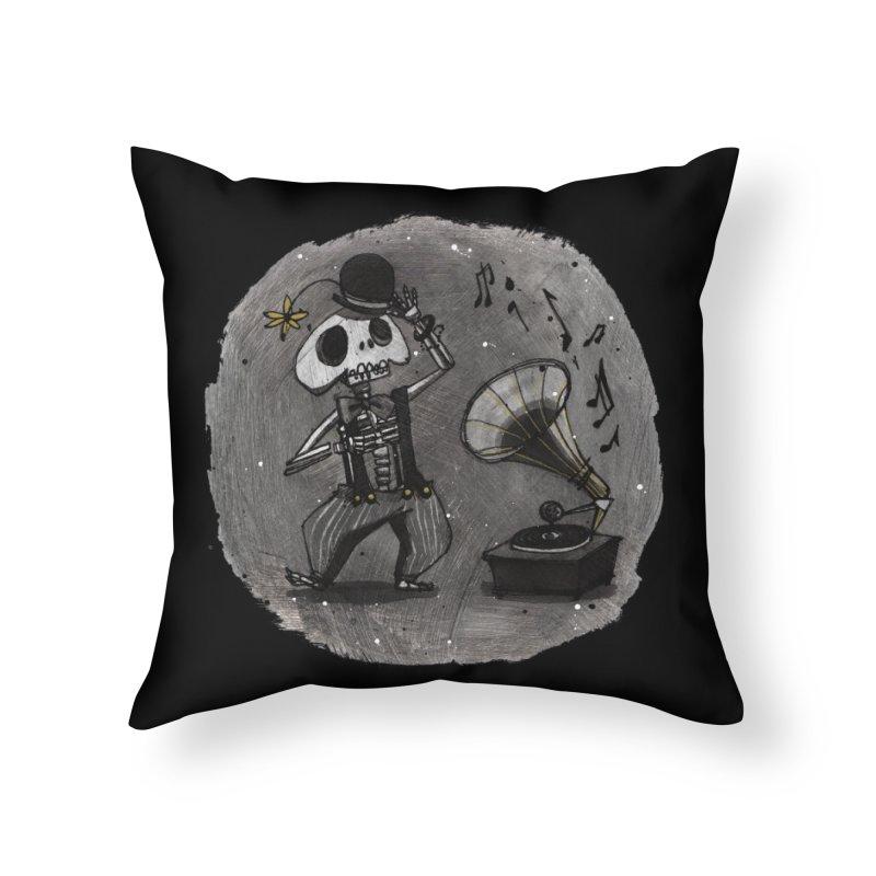 Dance! Home Throw Pillow by ilustramar's Artist Shop