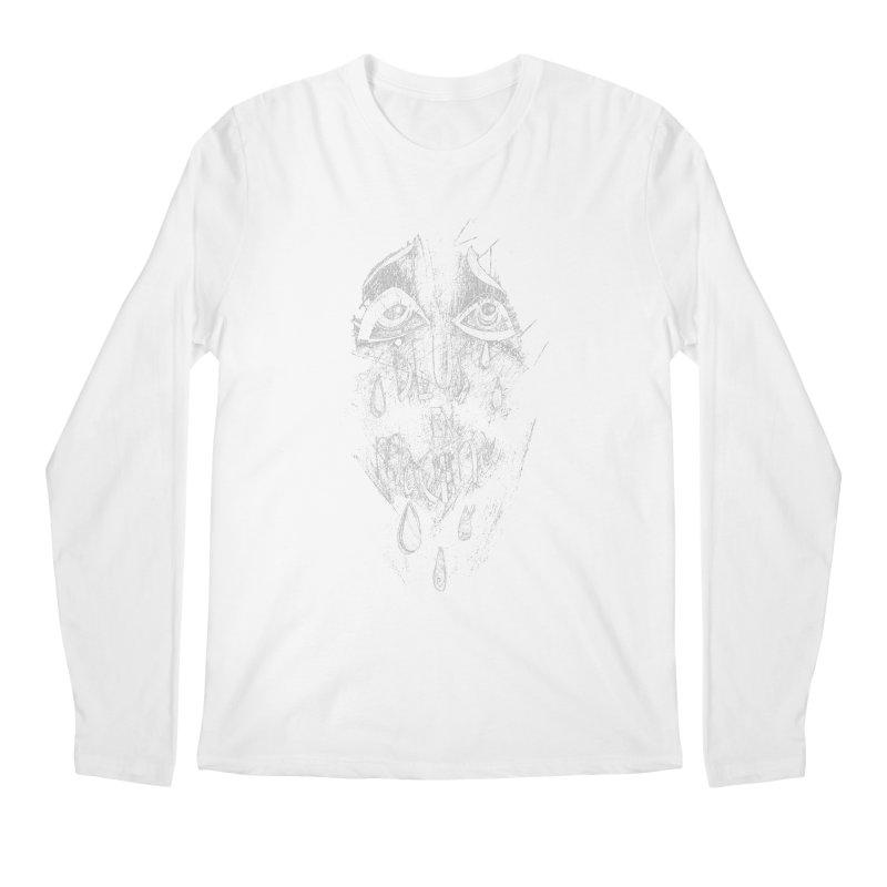 Deus ex Machina (white line) Men's Regular Longsleeve T-Shirt by ilustramar's Artist Shop
