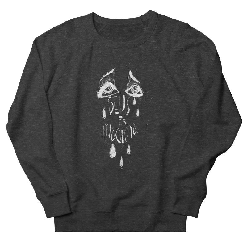 Deus ex Machina (white line) Women's Sweatshirt by ilustramar's Artist Shop