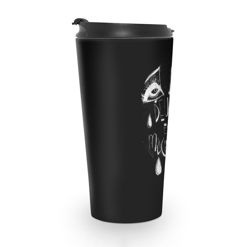 Deus ex Machina (white line) Accessories Travel Mug by ilustramar's Artist Shop