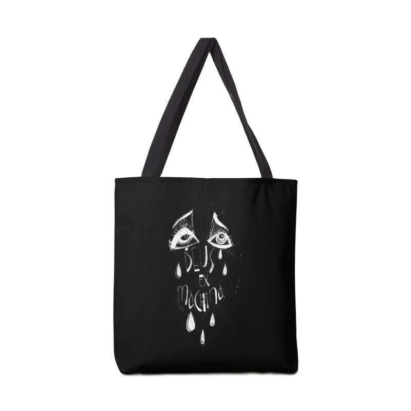 Deus ex Machina (white line) Accessories Tote Bag Bag by ilustramar's Artist Shop