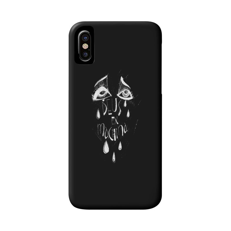 Deus ex Machina (white line) Accessories Phone Case by ilustramar's Artist Shop