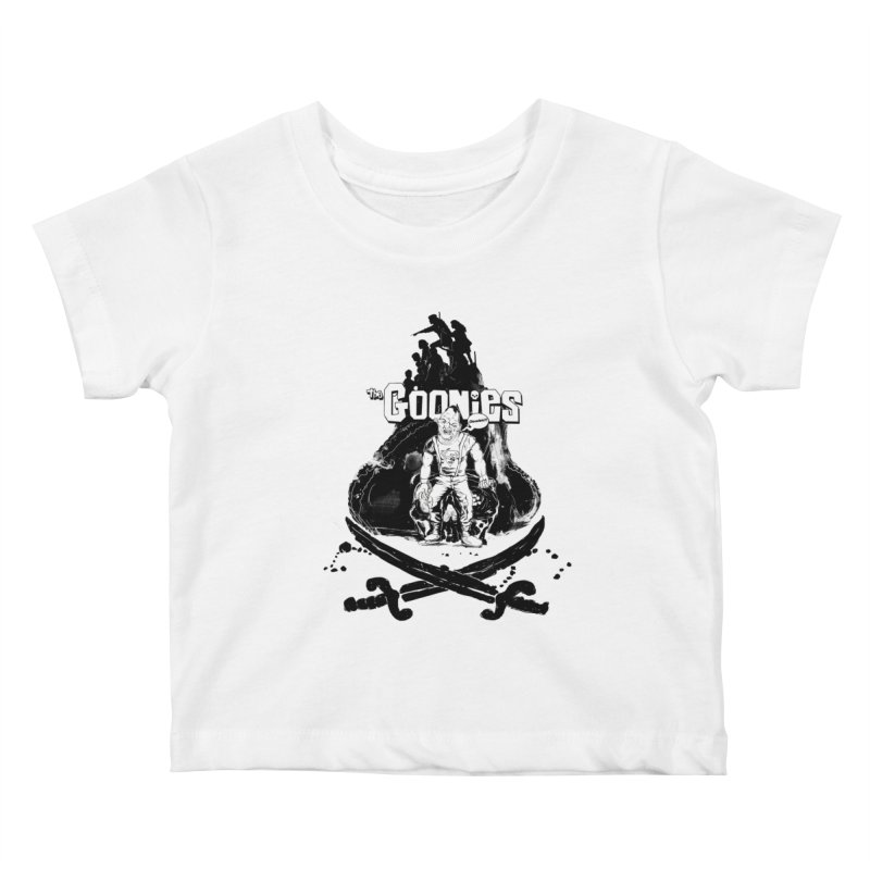 The Goonies! Kids Baby T-Shirt by ilustramurilo's Artist Shop